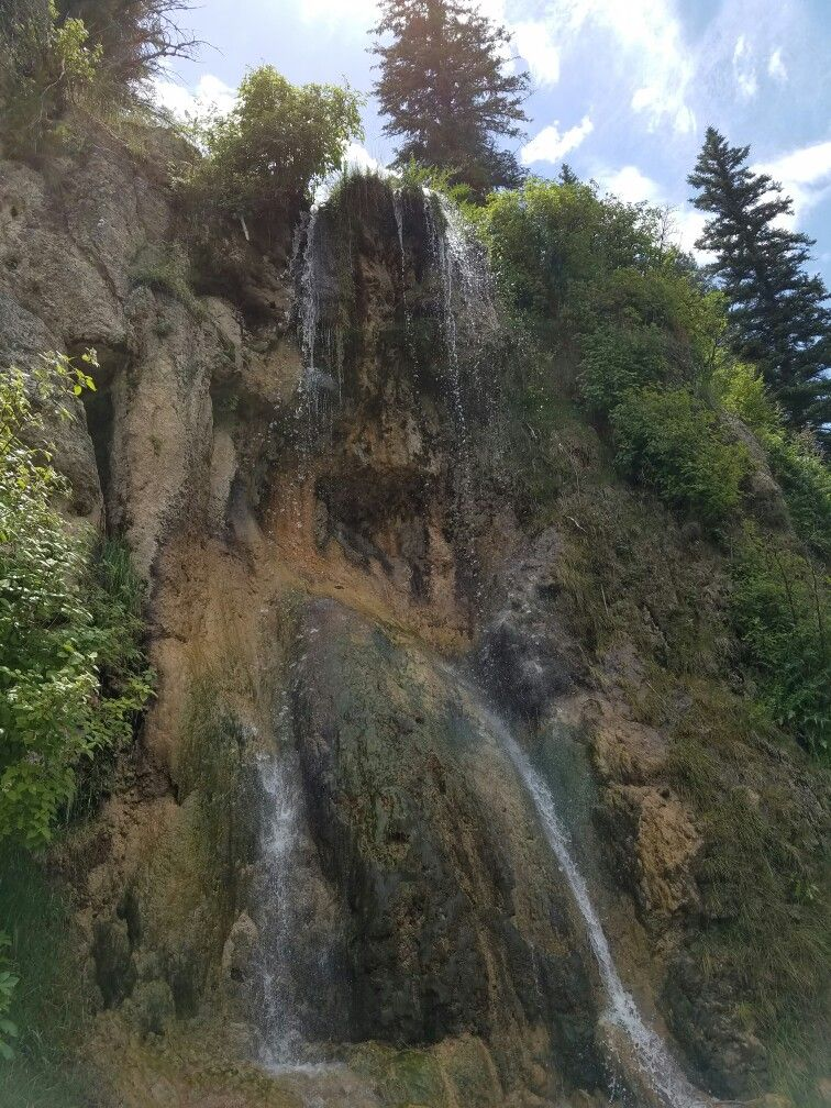 Bluff Springs waterfall Cloudcroft NM   Cloudcroft