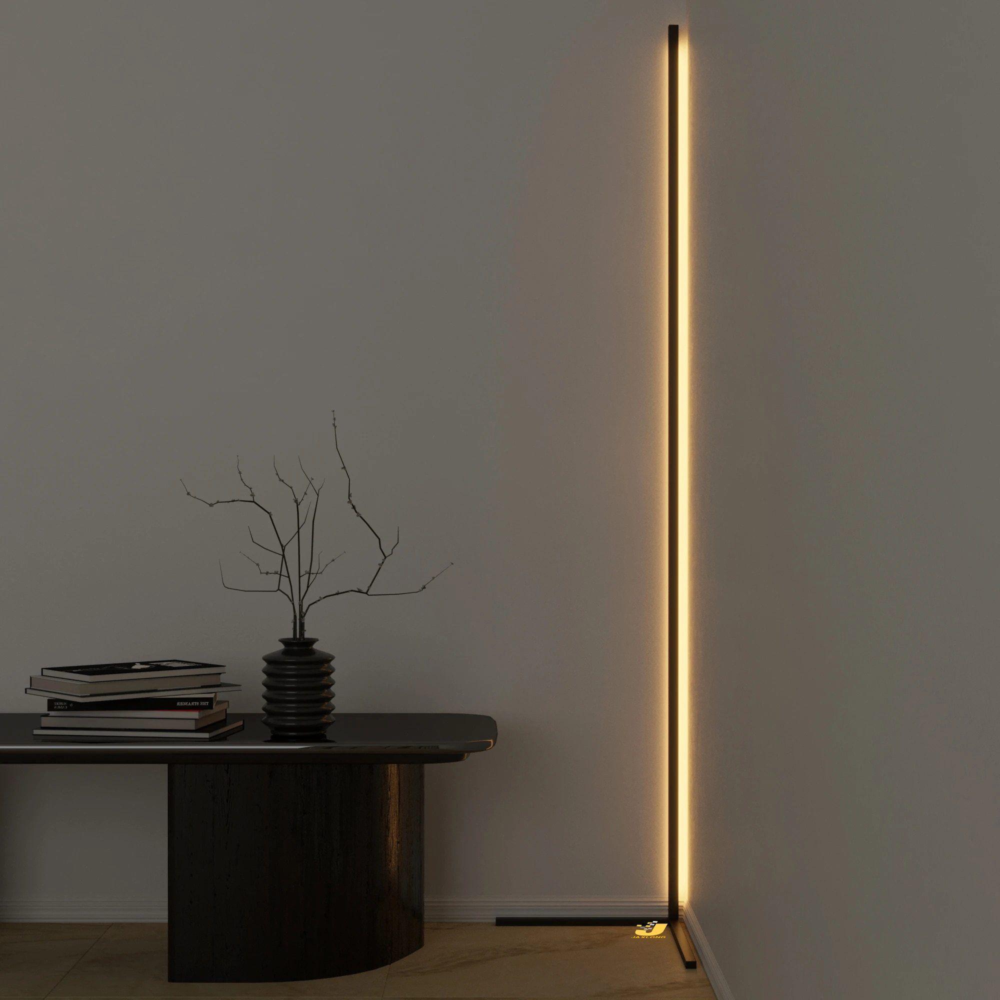 Modern Colorful Corner Led Floor Lamp In 2021 Corner Lamp Standing Lamp Led Floor Lamp