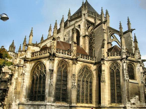 Chevet de l 39 glise saint etienne beauvais picardie france picardie pinterest beauvais - Chevet architectuur ...