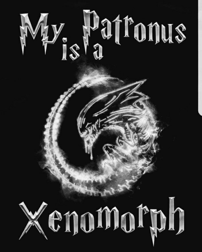 Image result for my patronus is a xenomorph