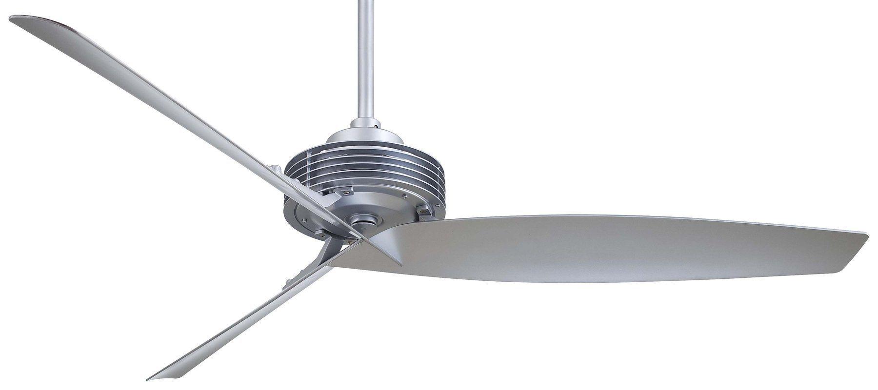 "MinkaAire Gilera 62"" 3 Blade Gilera Indoor Ceiling Fan with Blades Wall Control"