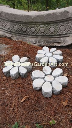 Stone flowers garden art these are very expensive to buy but take a stone flowers garden art these are very expensive to buy but take a look you could solutioingenieria Gallery