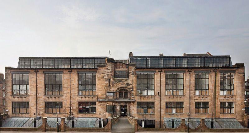 Glasgow, Kunstschule, Charles Rennie Mackintosh,1898