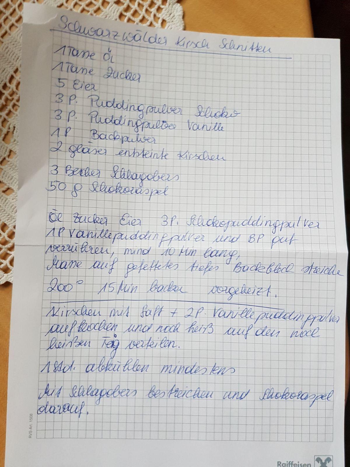 Pin von DANIELA PARKER auf Deutsche Rezepte | Kuchen ...