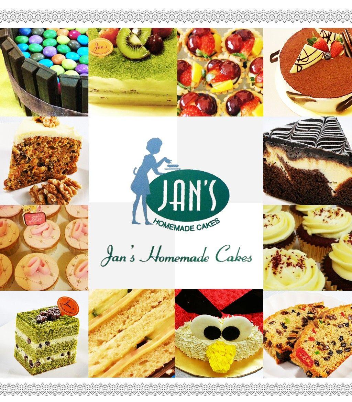 Jan S Homemade Cakes Ad Design By Bingazz Com Penang Cake Bakery Pastry Homemade Design Homemade Homemade Cakes Cake
