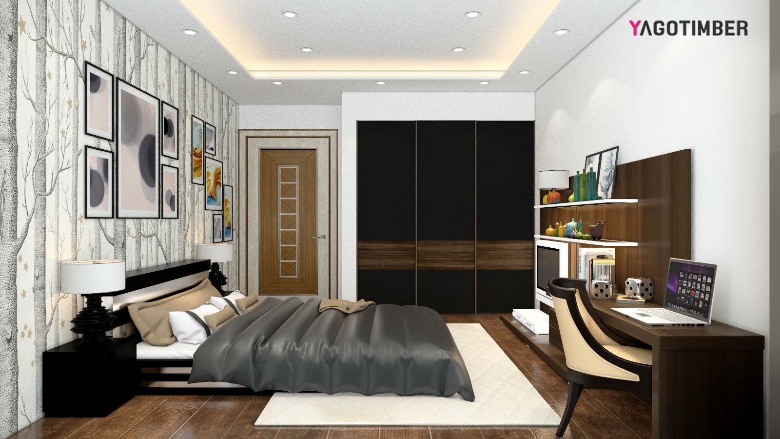 Designing Bedroom Get Yagotimber's Modern #bedroom Interior Designs For Your #home