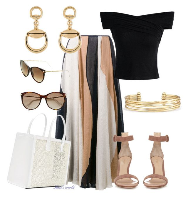 """""""dress2129"""" by k-meszaros on Polyvore featuring Roksanda, Chicwish, Gianvito Rossi, Stella & Dot and Gucci"""