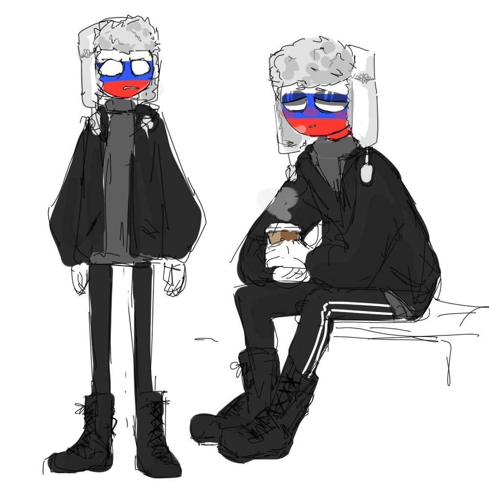 russia countryhumans - Google Search | Country art, Russia ...