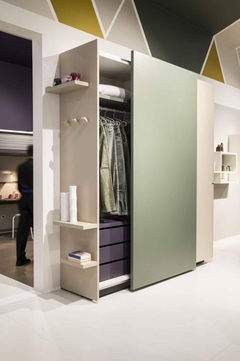 Contenitori Per Cabina Armadio.Lago Salone Milano 2015 Pastel Bedroom Camere Da Letto Mebel Nel