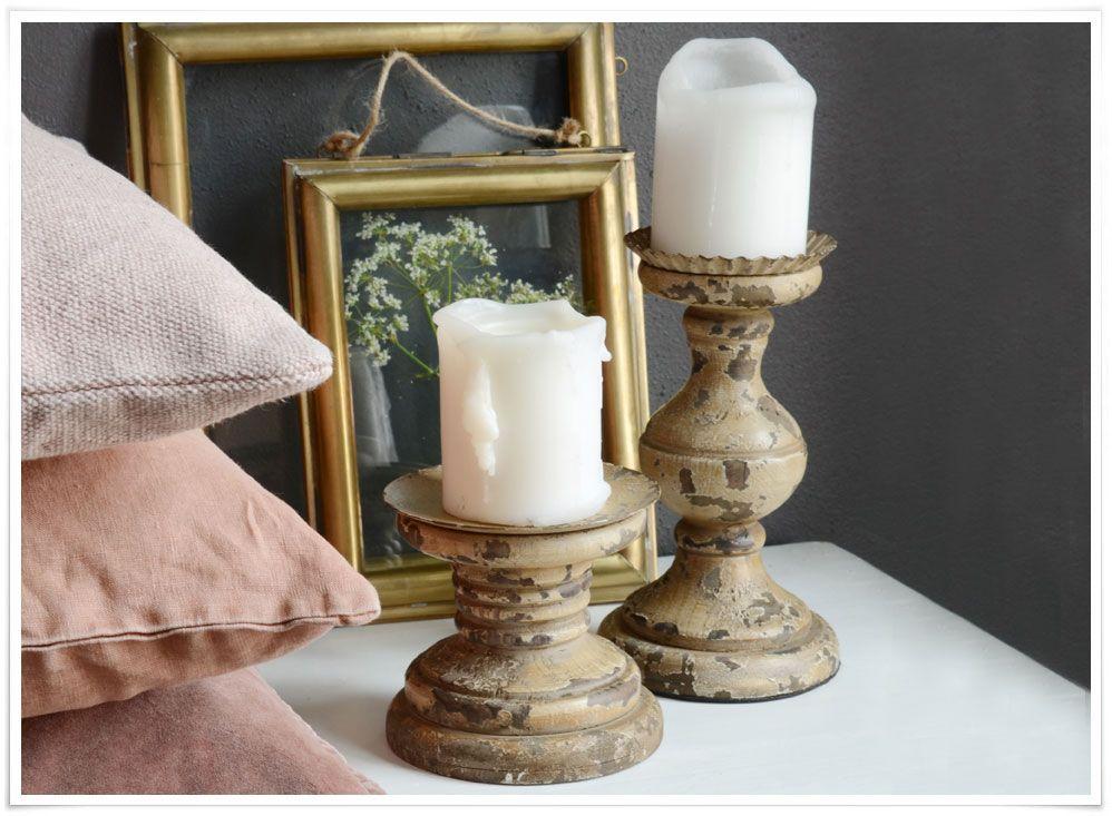 bougeoir 39 wooden pillar 39 en bois c rus lumi res pinterest bougeoirs d co int rieure. Black Bedroom Furniture Sets. Home Design Ideas