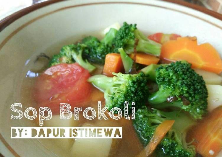 Resep Sop Brokoli Oleh Dapur Istimewa Resep Masakan Simpel Brokoli Resep
