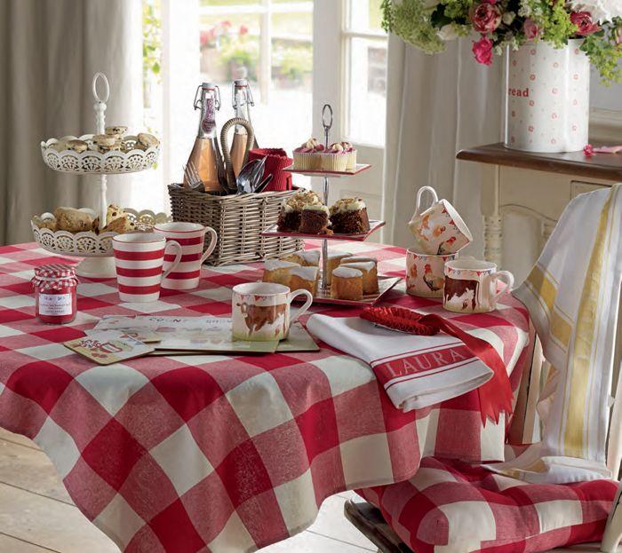 Laura ashley d cor pinterest maisons rouges carreaux - Oggettistica per cucina ...