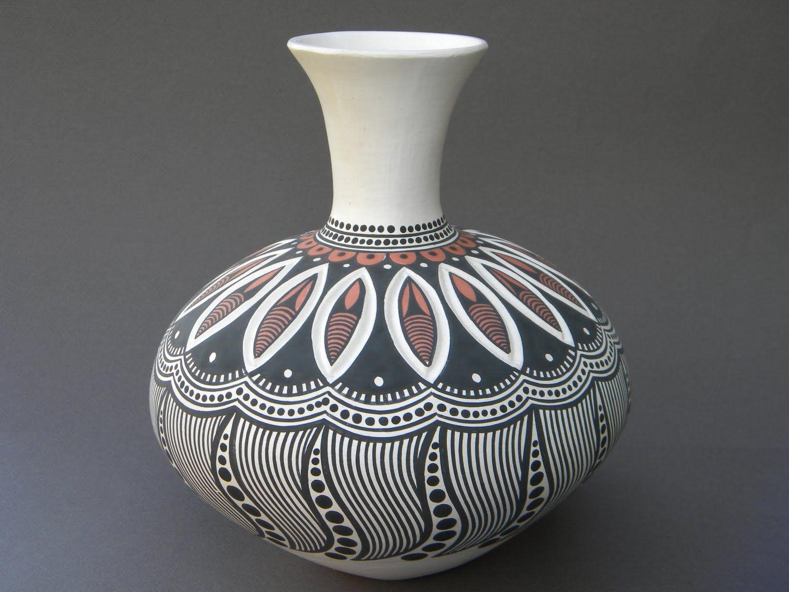 Pottery Gallery Ceramic painting, Pottery pots, Pot designs