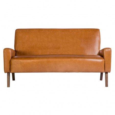 Marlon Sofa In Old English Tan Leather