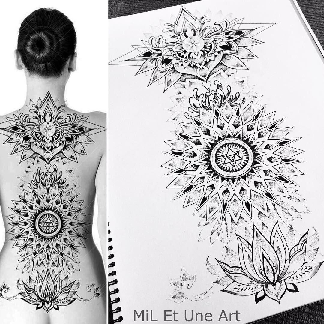 I would love to tattoo this full back piece around February/March 2017 | Enquiries by DM or email miletuneart@gmail.com  #miletune