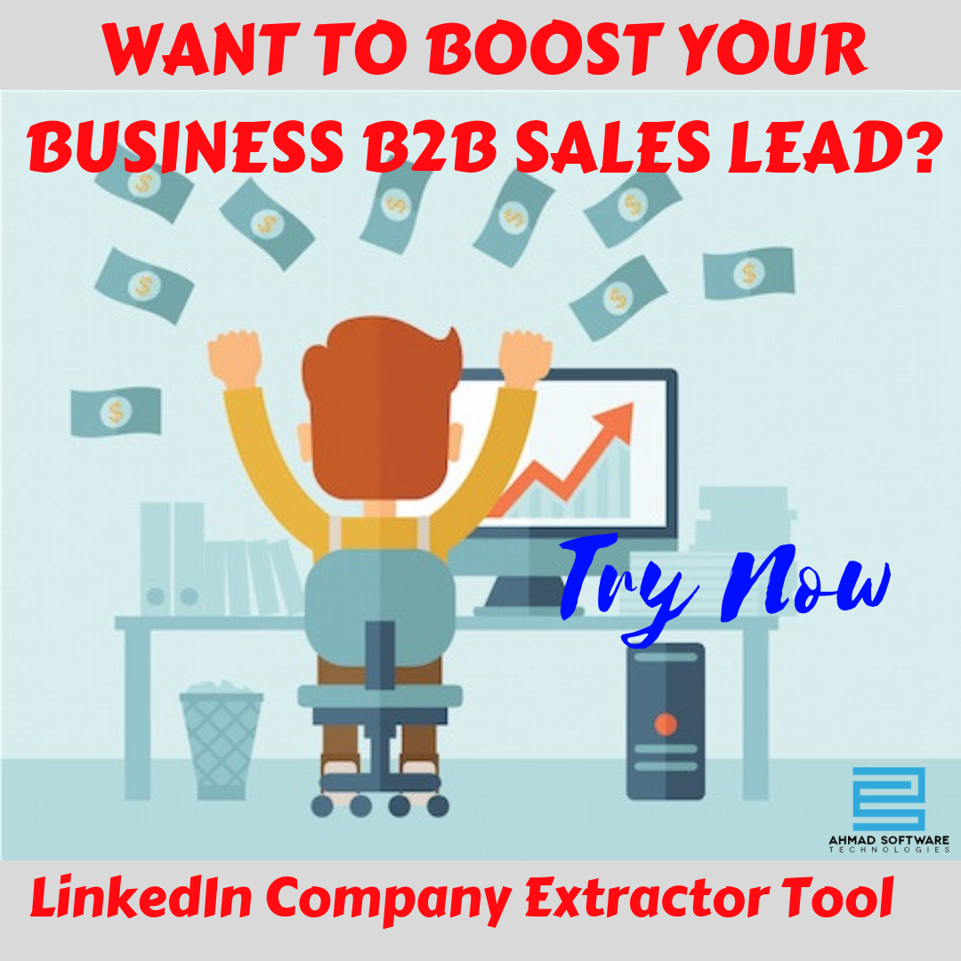 As a B2B sales lead expert you can find most valuable B2B