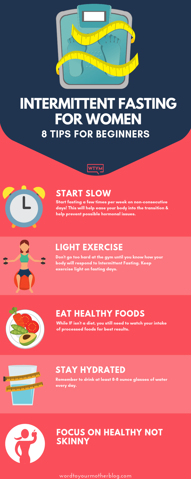 Intermittent Fasting for Women-8 Tips for Serious Weight Loss Results If you want to get started wit...