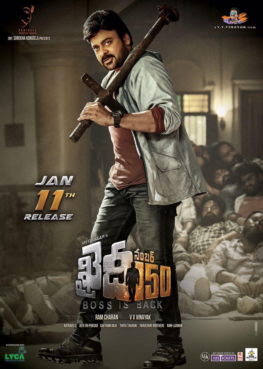 Khaidi No 150 2017 Dual Audio Hindi Telugu 480p Hdrip Telugu Movies Online Full Movies Movies
