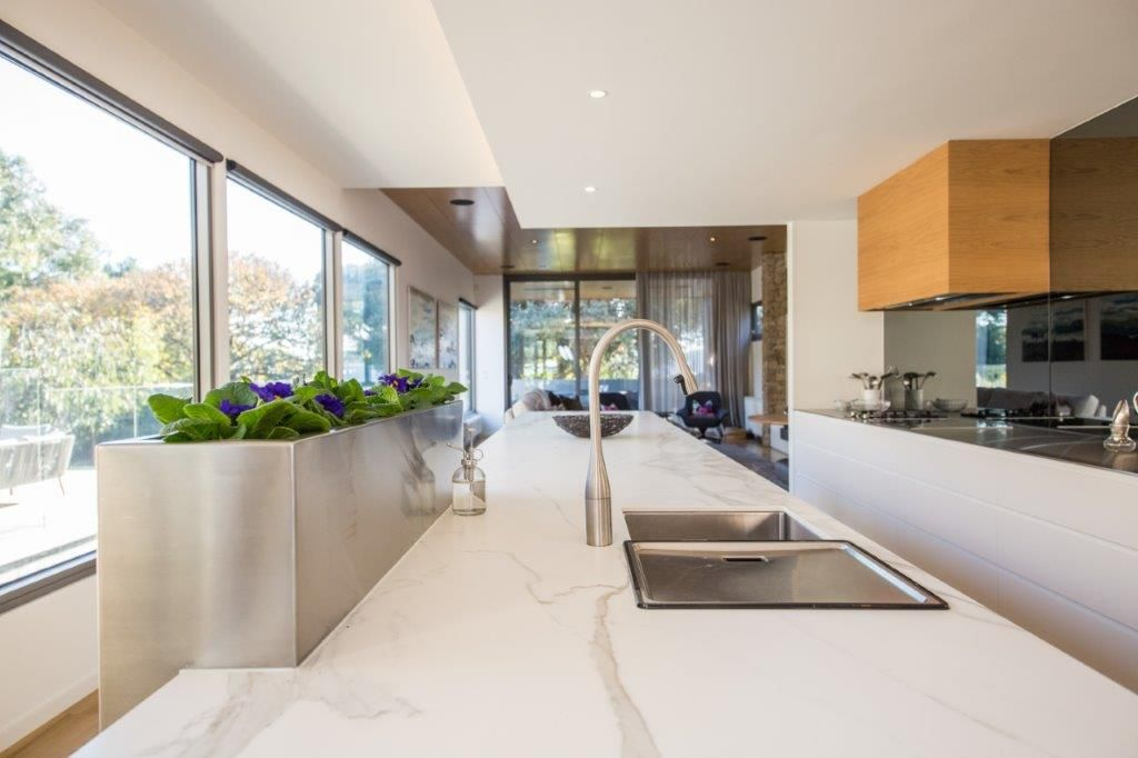 Gorgeous Kitchen With Planter Box By Geelong Cabinetmaker Sclk
