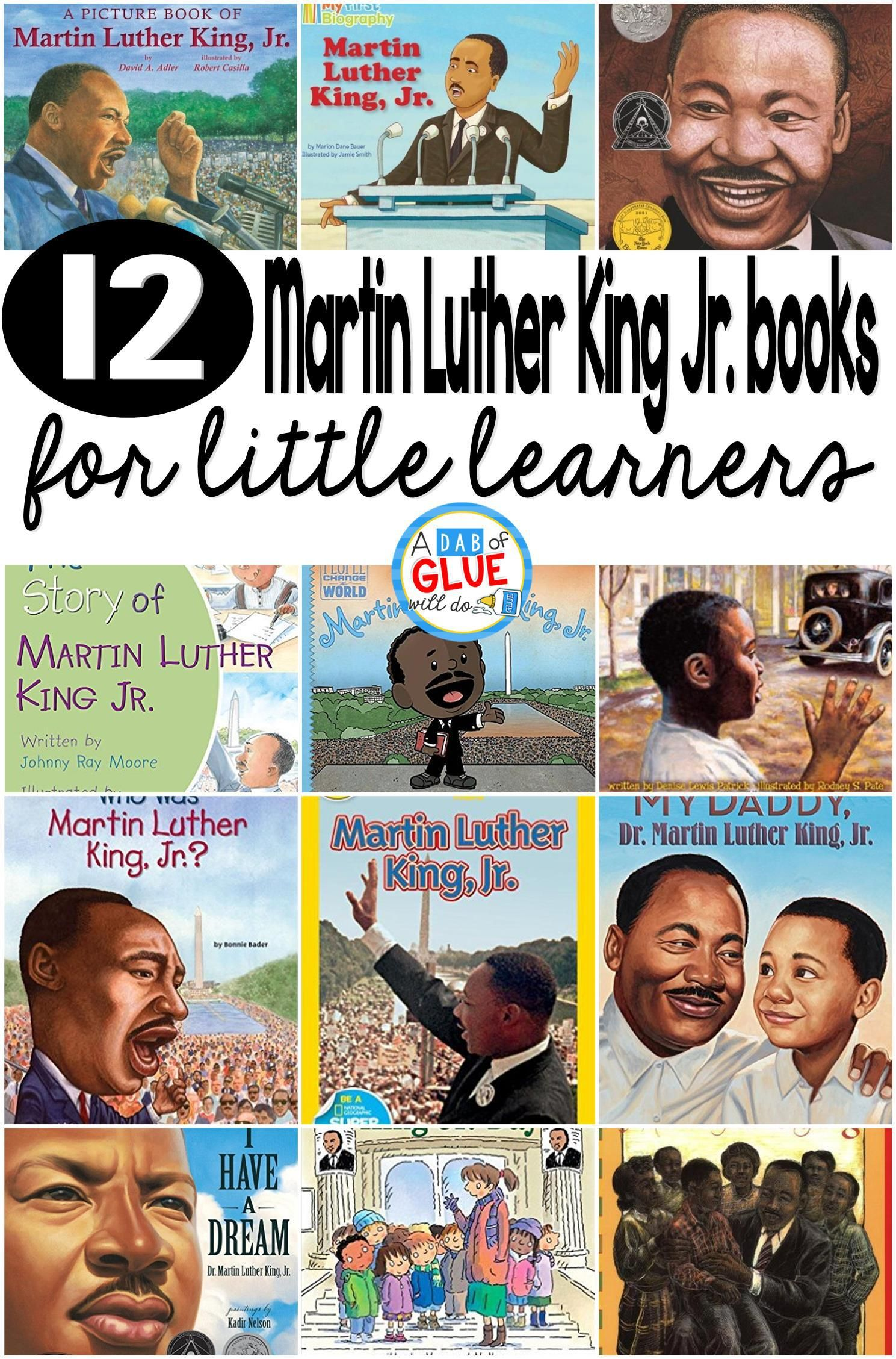 12 Martin Luther King Jr Books For Little Learners
