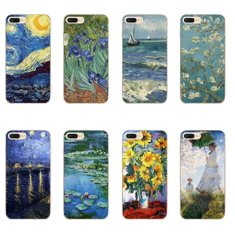 coque van gogh iphone 7