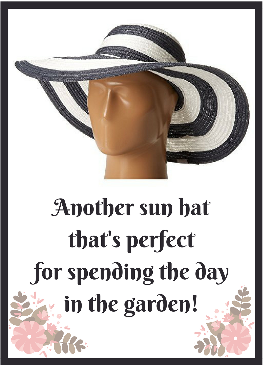 I Like This Sun Hat Because The Fabric Has Ups 30 Sun Protection