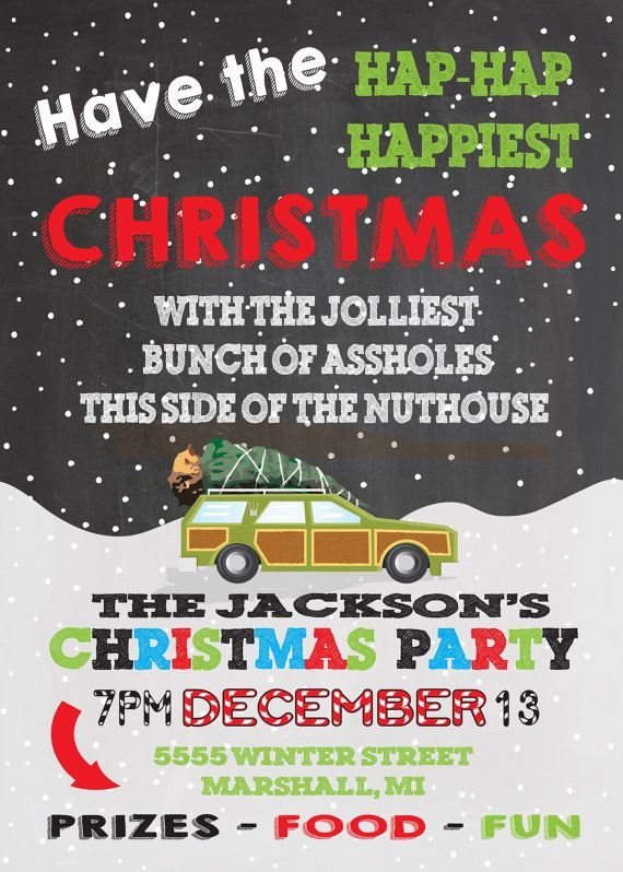 Griswold Themed Christmas Vacation Holiday Party
