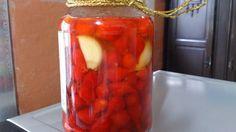 Sabores da Cozinha sem Glúten: Conserva de Pimenta Biquinho.