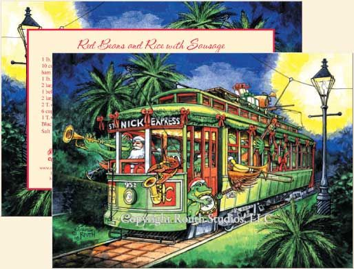 Louisiana greeting cards cajun greeting cards the st nick louisiana greeting cards cajun greeting cards the st nick express new orleans street m4hsunfo