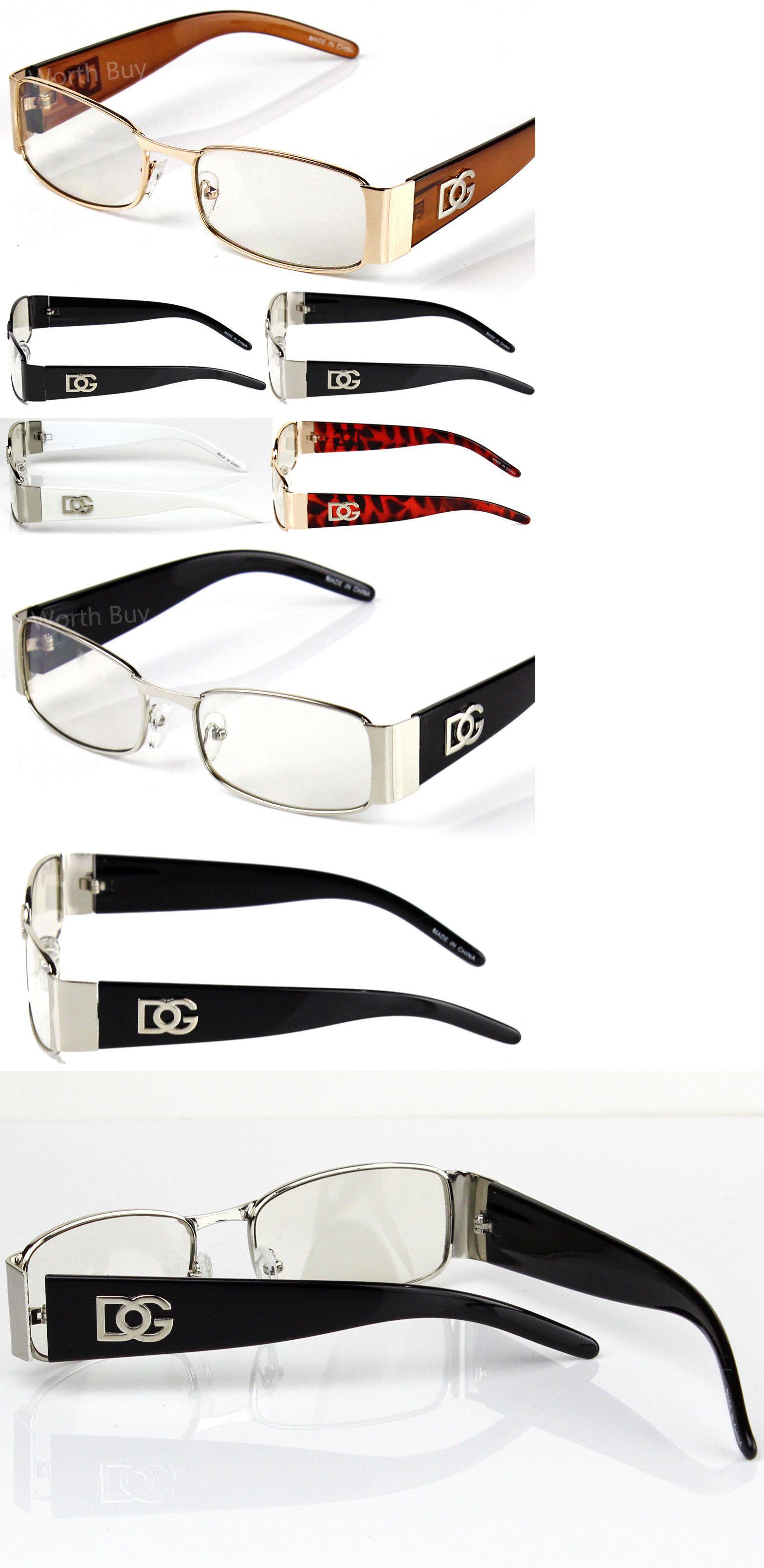 866a5e4c707b Sunglasses and Sunglasses Accessories 179243  Men Women Dg Clear Lens  Designer Rectangular Eyeglasses Retro Fashion