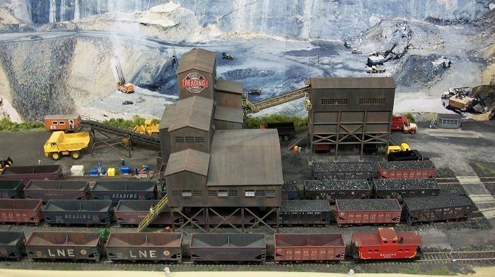 Coal Mine Dioramas In Ho Scale Ho Scale Strip Mine With
