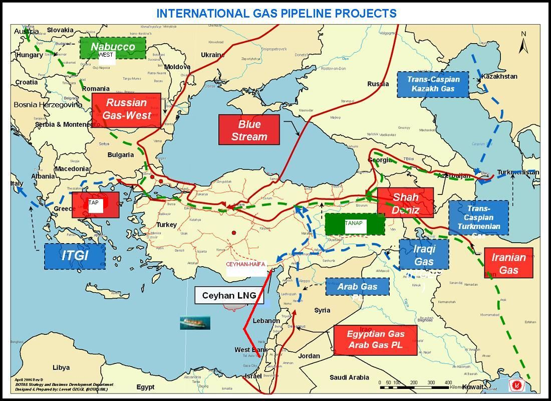 oil and gas pipelines southern natural gas pipeline map