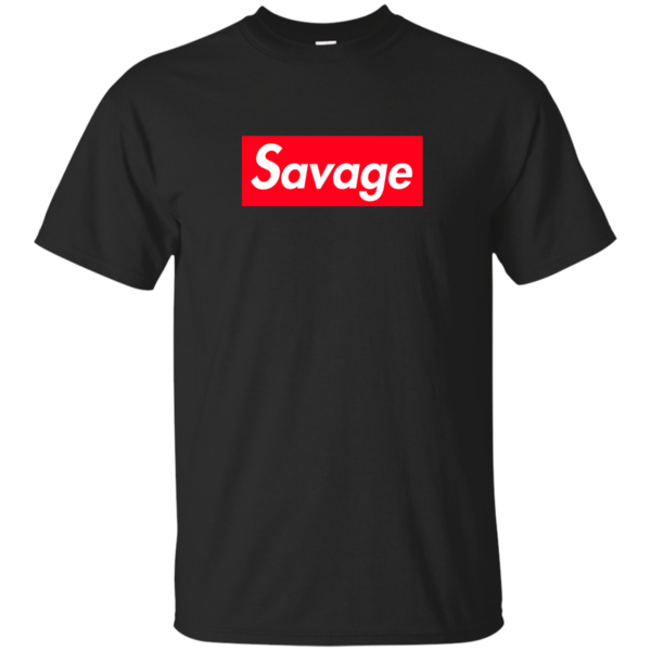 Savage Supreme Logo Box Shirt, Hoodie, Tank Shirts
