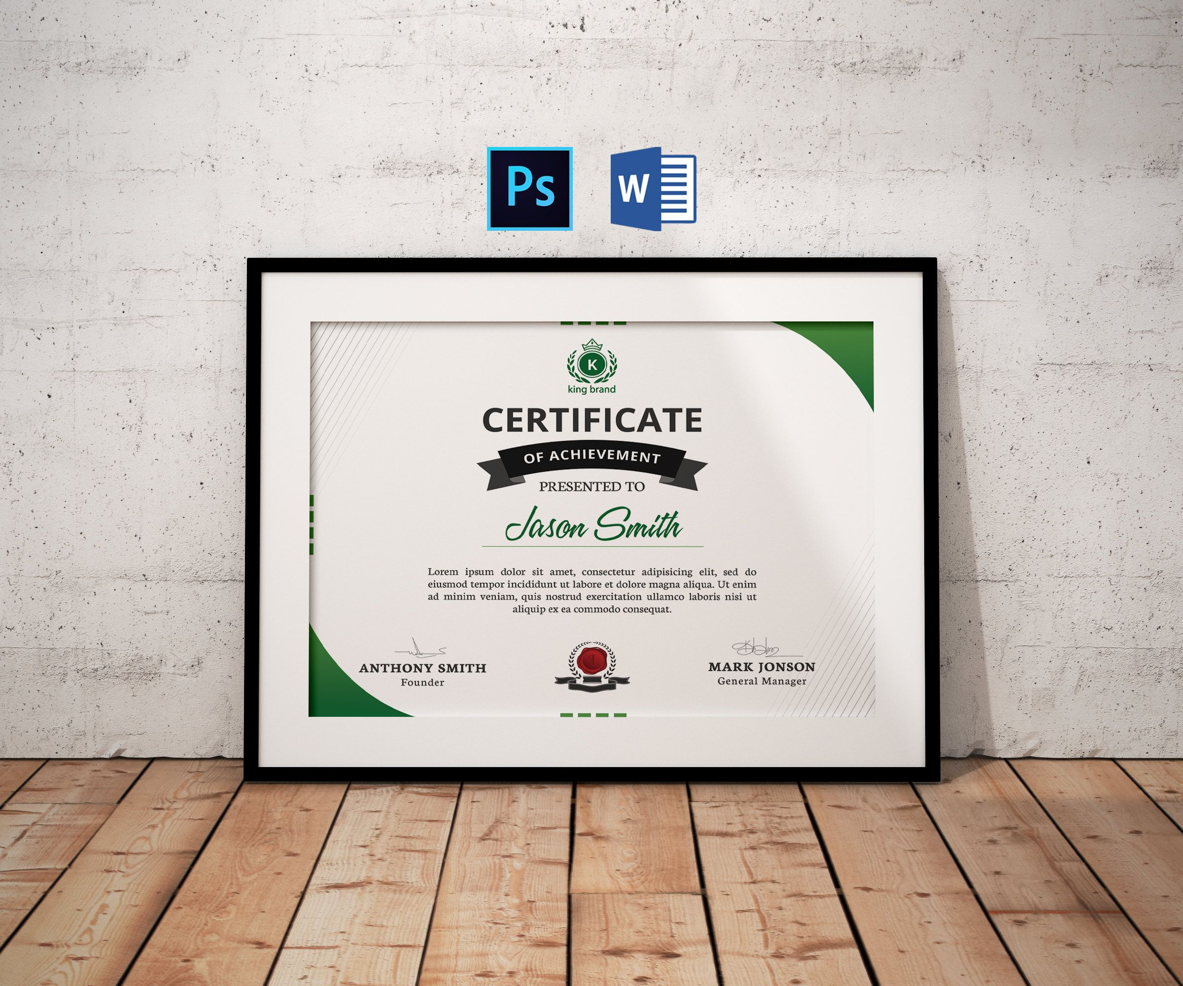 Certificate Template Certificate of Appreciation