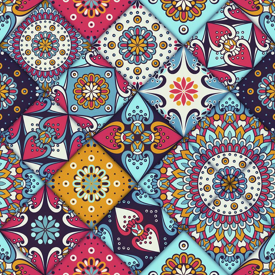 Zen Removable Wallpaper Wallsneedlove Tile Patterns Tapestry Removable Wallpaper