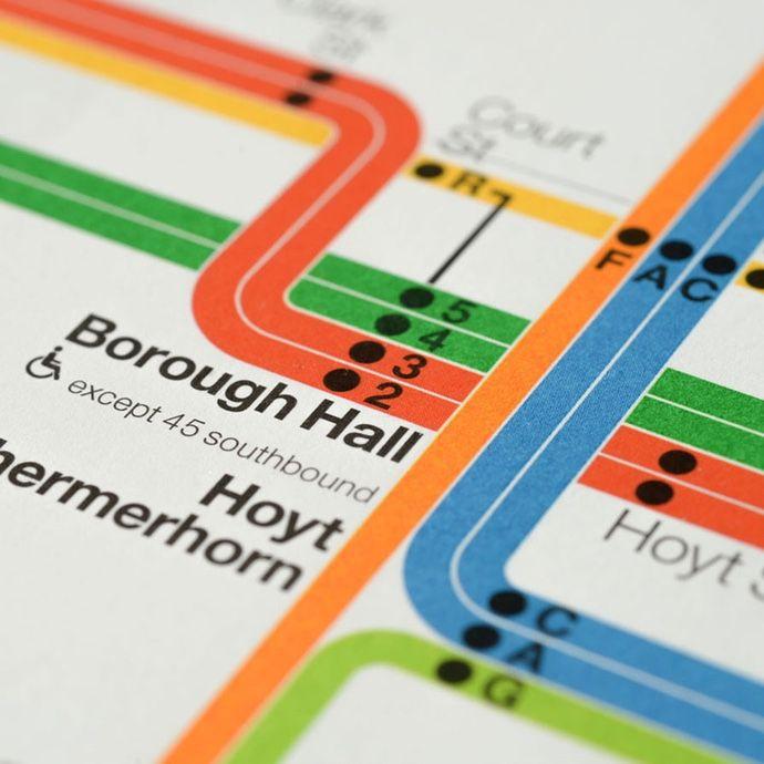 Subway Map Nyc 2012.Limited Edition 2012 New York City Subway Diagram Misc Subway