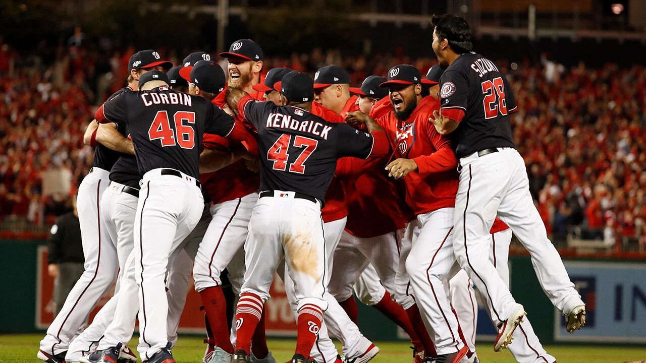 Washington Nationals Sweep St Louis Cardinals For Dc S First Trip To World Series In 86 Years Washington Nationals Baseball Washington Nationals World Series