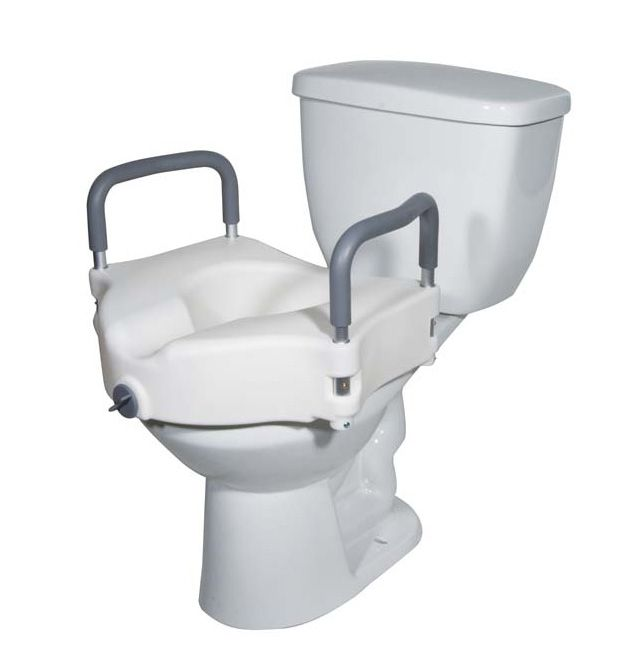 Raised Toilet Seat Helpful For Patients To Complete Toileting