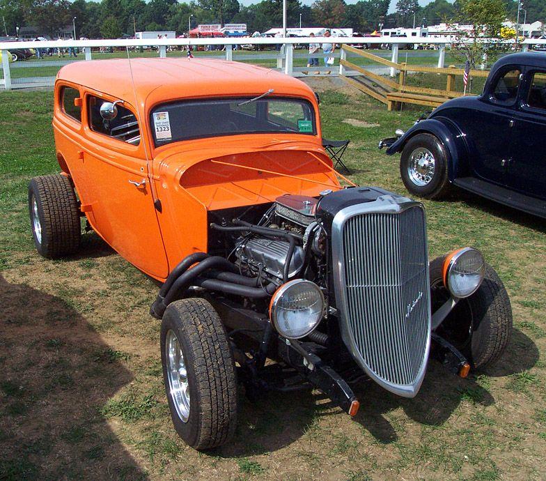 33 Coupe Paint Flames | Autos Hot Rod - Parte 1