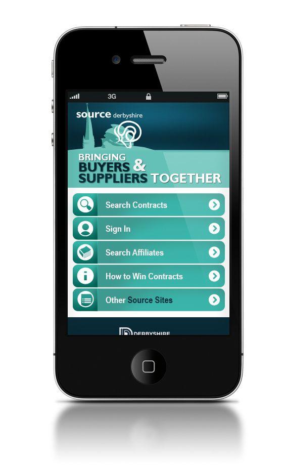 Mobile Webdesign on Behance