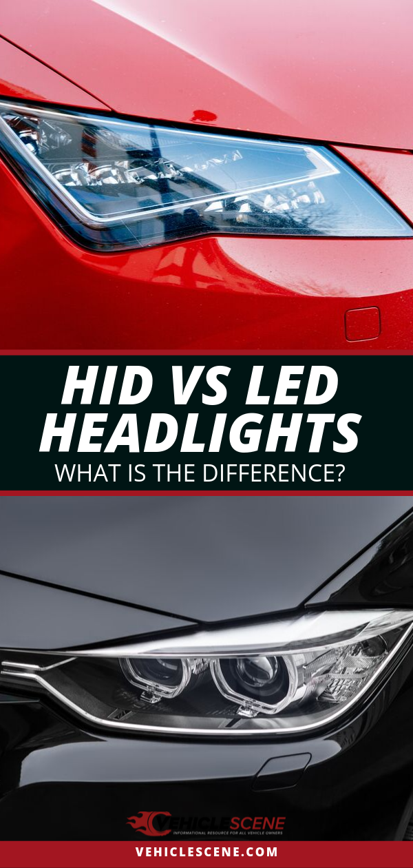 Trying to choose between LED vs HID headlights for your car? Check this guide out with tips and a checklist to go through before you consider either to be superior to the other for your vehicle needs. We discuss the advantages and disadvantages of each of these two products, so you know which is better for your case! Who said car technology was easy to keep up with, right? #cartips #caraccessories #cartech #carproducts #buyingguide #carexterior