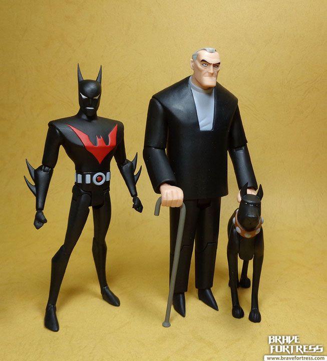 Batman Beyond Bruce Wayne bust by Diamond Select