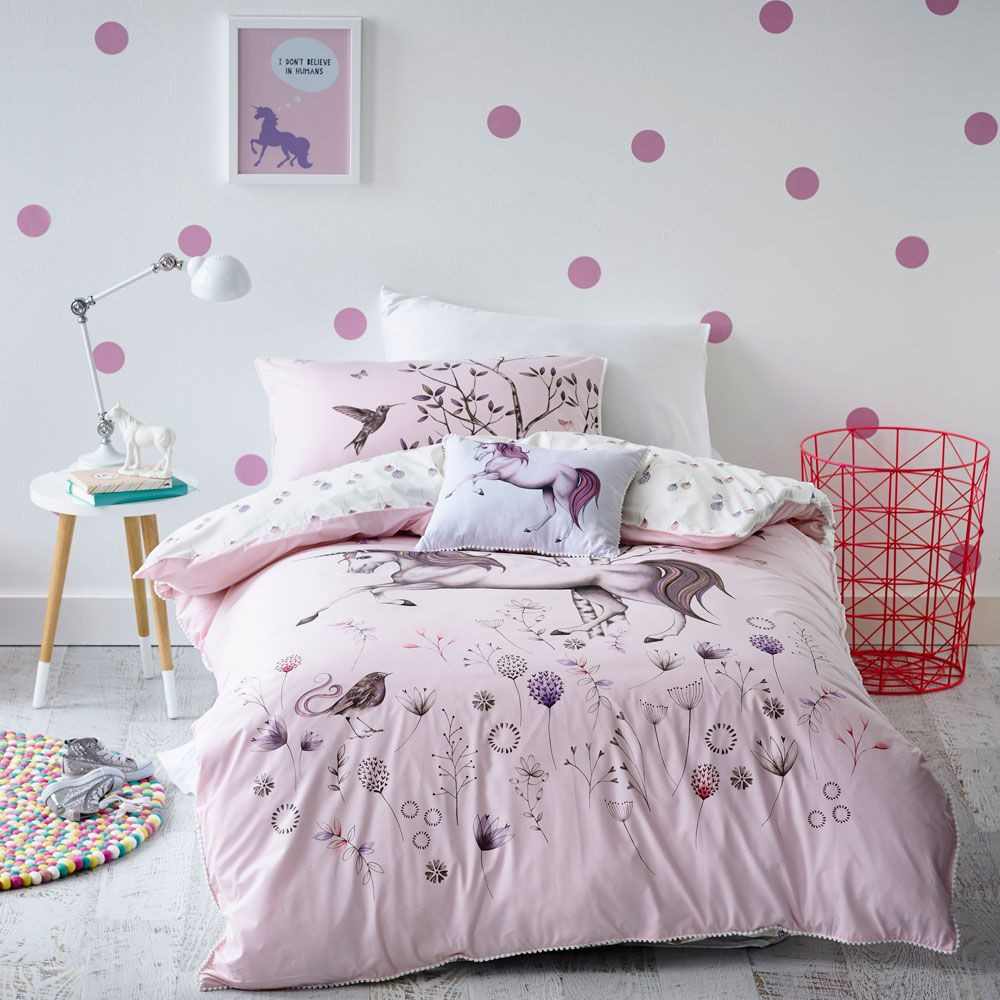 Kids Bedroom Linen unicorns! | adairskids dream room | pinterest | kids online, quilt