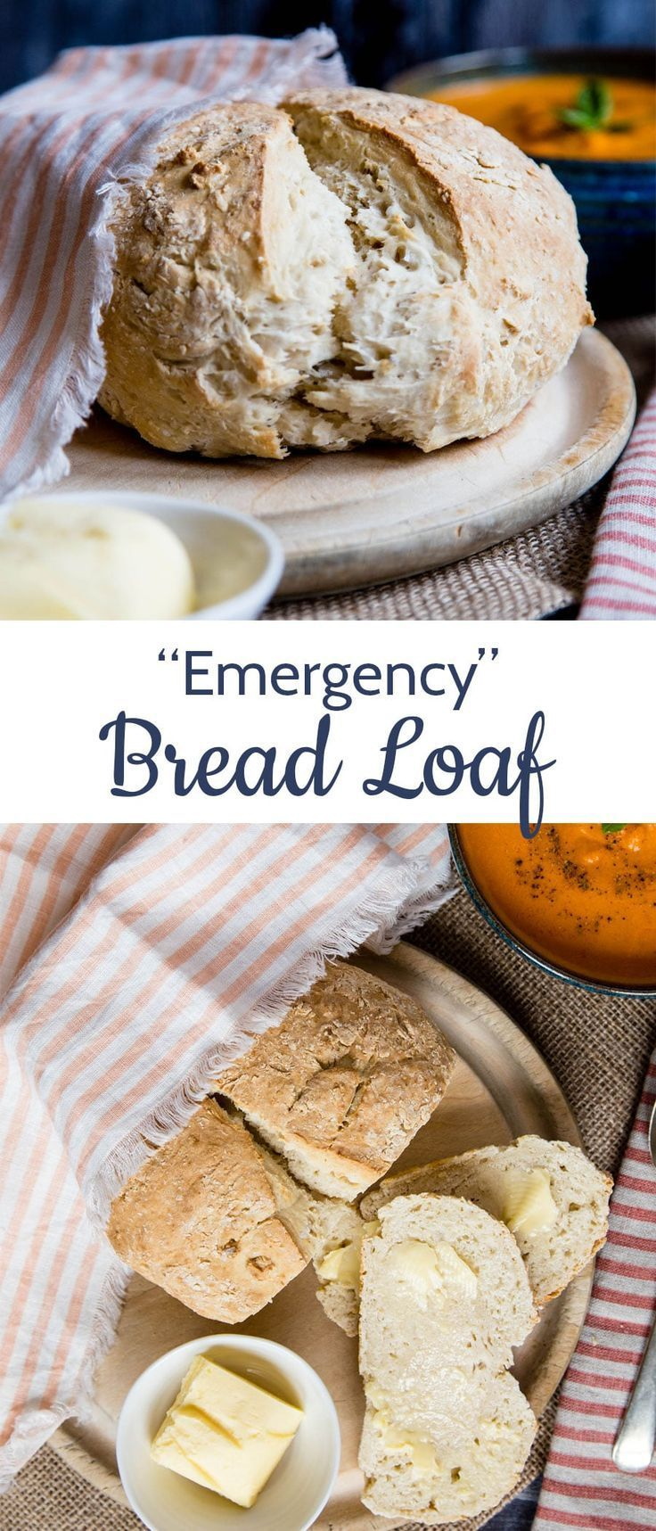 Emergency No Yeast Bread images