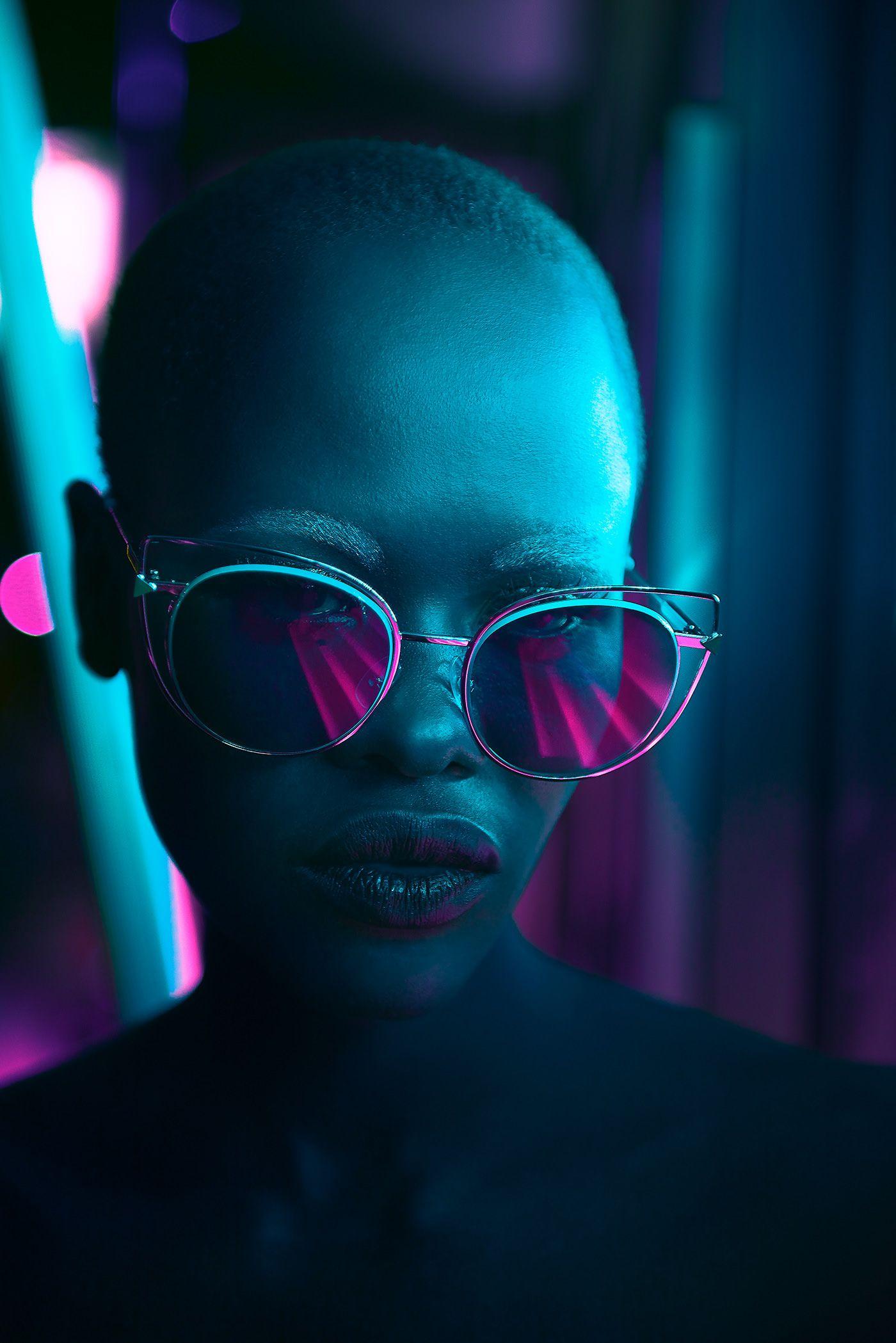Behance Best of Behance Neon photography, Beauty