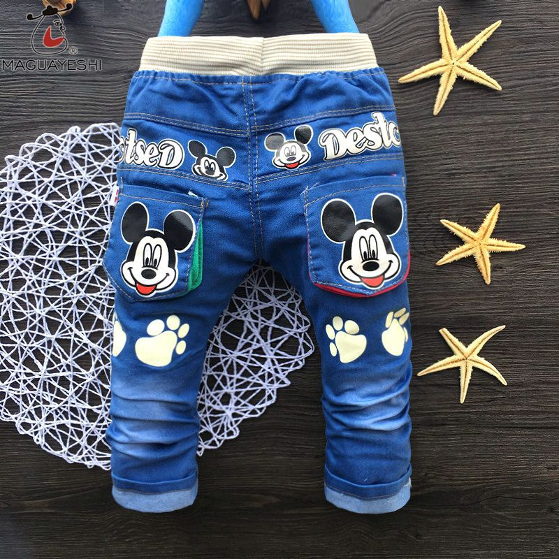 Spring Autumn Children'S Pants Boys Cute Cartoon Embroidered Jeans Trousers Outfits Kids Leisure Trousers Boys Girls Clothing - Buy it Now! #kidshopglobal #stylishkids #fashionkids #babygirl #babyboy #mybaby #babyshower #babylove #happybaby #cutebaby #babyfashion #kidshop #babyshop #kids #kidsclothes #style #mother #motherhood #children #childhood #kidsmodel #kidsroom #fashion #fashionista #loveit #cute #boutique