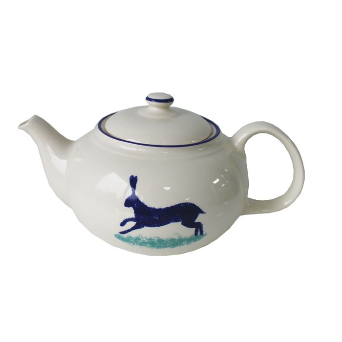 click for more information on Dorset Delft Teapot Hare Hinchcliffe & Barber Pack 2