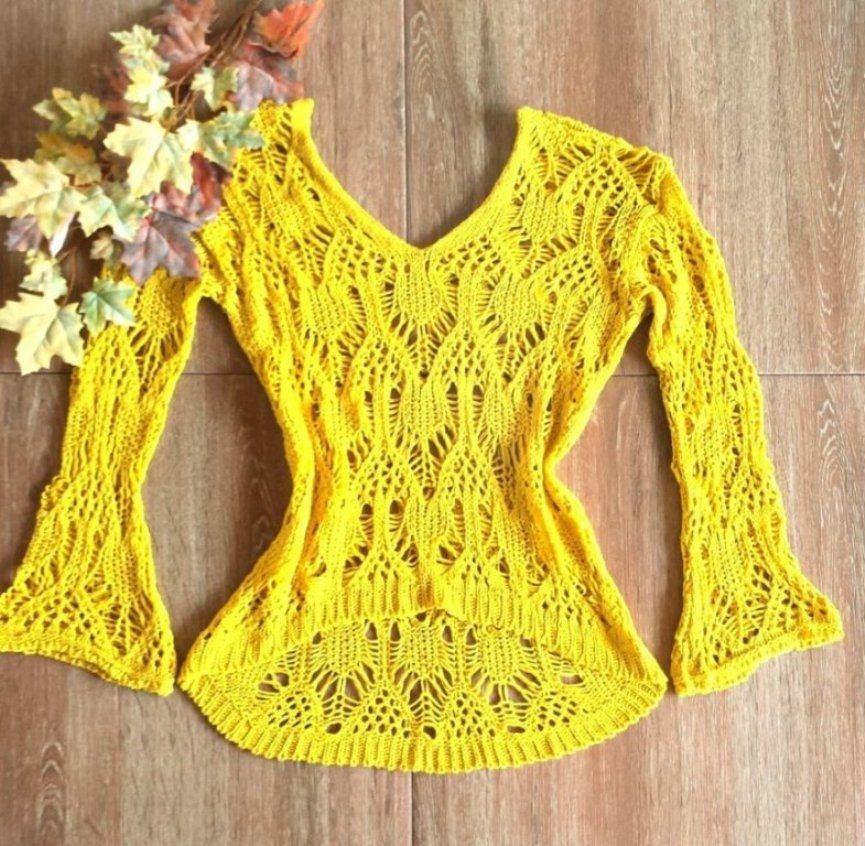 Blusas de Crochê.Modelos primavera verão 2017 84d197c4636