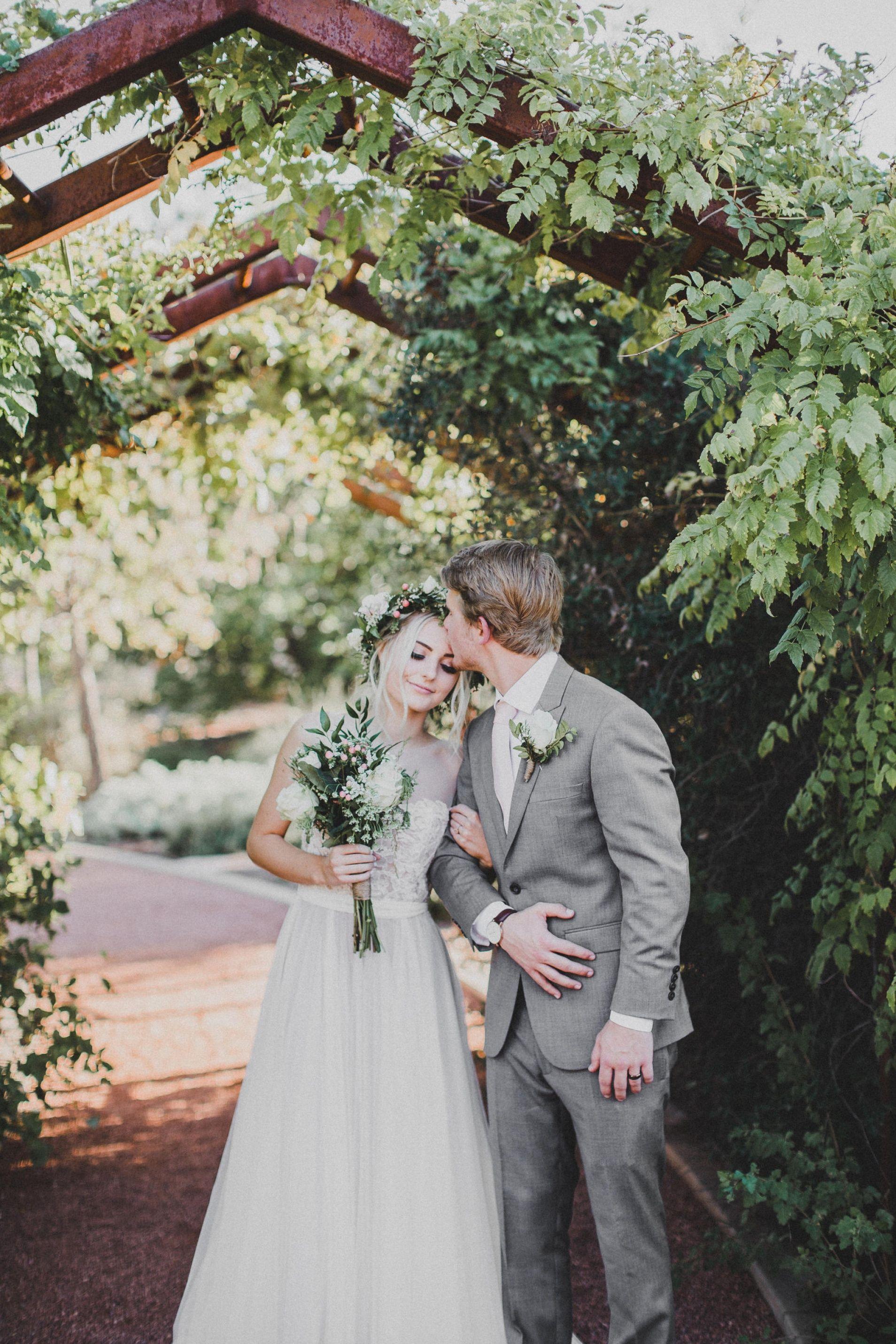 Aspyn + Parker, Tonaquint Gardens, St. George, Utah | Wedding ...