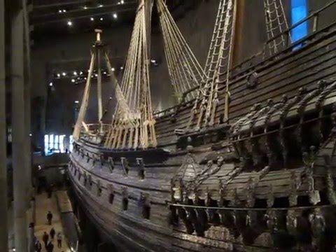 Museu Vasa, Estocolmo, Suécia / Vasa Museum, Stockholm, Sweden